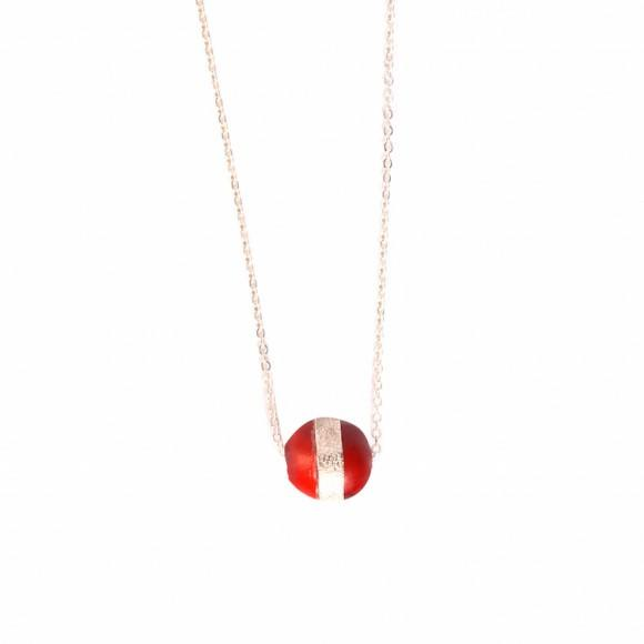 "Symbol of Life Good Luck Red Necklace w/Meaningful Seed Bead 16""-18"" - EvelynBrooksDesigns"