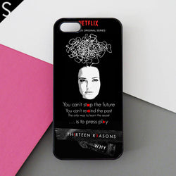 13 Reasons Why Quotes iphone cases