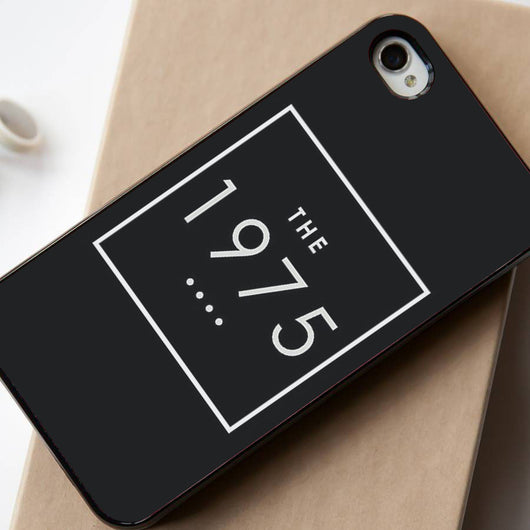 The 1975 Black iPhone 4/4S, iPhone 5/5S, iPhone 5C Case, Samsung Galaxy S4/S5 Case