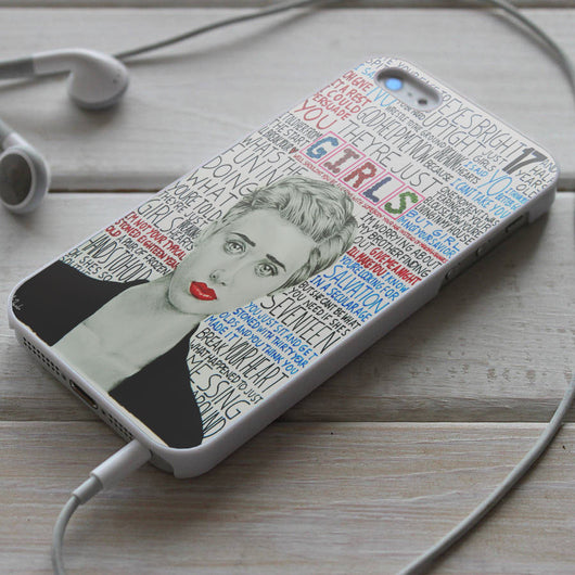 The 1975 Girls Lyrics - iPhone 4/4S, iPhone 5/5S/5C, iPhone 6 Case, Samsung Galaxy S4/S5 Case