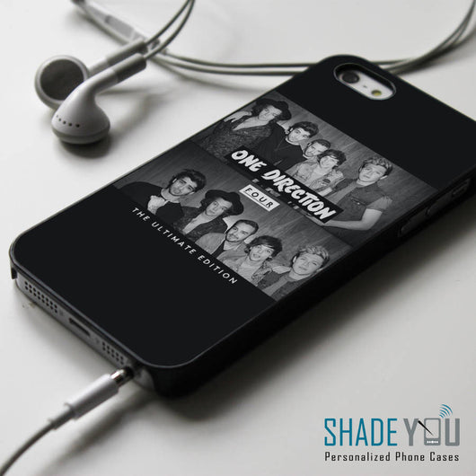 One Direction Four 1D iPhone 4/4S, iPhone 5/5S/5C, iPhone 6 Case, Samsung Galaxy S4/S5 Cases