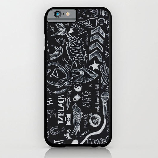 One Direction Tattoos 1D iPhone 6 Case