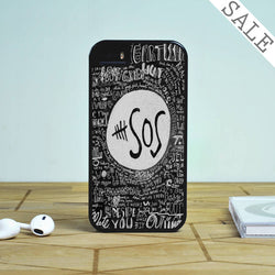 5SOS Lyrics Drawing - iPhone 6 Case, iPhone 5C Case, iPhone 5S Case, plus Samsung Galaxy S4 S5 S6 Edge Cases