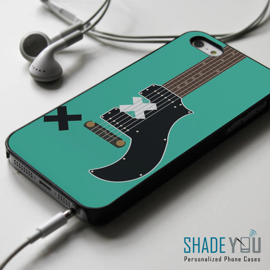 5SOS Michael Clifford Guitar - iPhone 4/4S, iPhone 5/5S/5C, iPhone 6 Case, Samsung Galaxy S4/S5 Cases