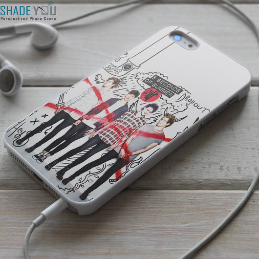 5SOS iPhone 4/4S, iPhone 5/5S/5C, iPhone 6 Case, Samsung Galaxy S4/S5 Cases