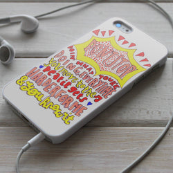 5SOS Don't Stop Lyrics - iPhone 4/4S, iPhone 5/5S/5C, iPhone 6 Case, Samsung Galaxy S4/S5 Cases