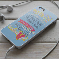 5SOS Heartbreak Girl Lyric - Five Seconds of Summer iPhone 4/4S, iPhone 5/5S/5C, iPhone 6 Case, Samsung Galaxy S4/S5 Cases