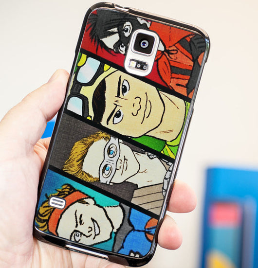 5SOS Superhero Cover - Five Seconds of Summer Plastic / Rubber Samsung Galaxy S3 S4 S5 and Note 3 Cases