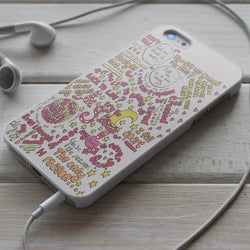 5SOS The Only Reason Lyric - iPhone 4/4S, iPhone 5/5S/5C, iPhone 6 Case, Samsung Galaxy S4/S5 Cases