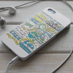 5SOS Unpredictable Lyrics - iPhone 4/4S, iPhone 5/5S/5C, iPhone 6 Case, Samsung Galaxy S4/S5 Case