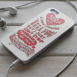 5SOS Wherever You Are Lyrics - iPhone 4/4S, iPhone 5/5S/5C, iPhone 6 Case, Samsung Galaxy S4/S5 Case