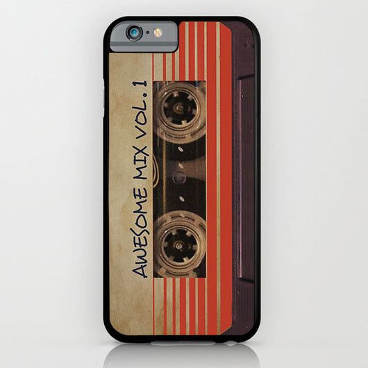 Awesome Mix Vol 1 Tape - Guardians of The Galaxy iPhone 6 + iPhone 6 Plus Cases