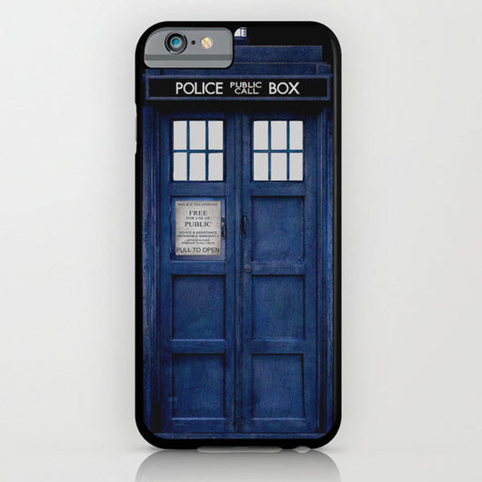 Doctor Who - Tardis iPhone 6 + iPhone 6 Plus Cases