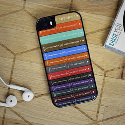 A Series of Unfortunate Events Books - iPhone 4/4S, iPhone 5/5S/5C, iPhone 6 Case, Samsung Galaxy S4/S5/S6 Edge Cases