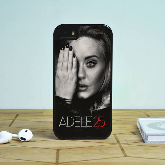 Adele 25 - iPhone 6/6S Case, iPhone 5/5S Case, iPhone 5C Case plus Samsung Galaxy S4 S5 S6 Edge Cases