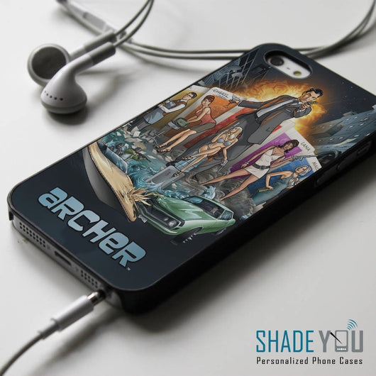 Agent Archer Sterling ISIS - iPhone 4/4S, iPhone 5/5S/5C, iPhone 6 Case, Samsung Galaxy S4/S5 Cases