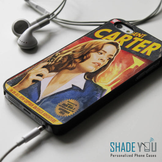 Agent Carter - iPhone 4/4S, iPhone 5/5S/5C, iPhone 6 Case, Samsung Galaxy S4/S5 Cases