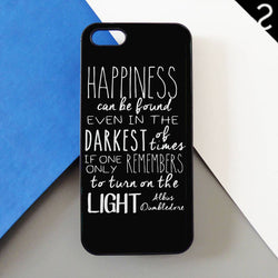 Albus Dumbledore Quotes - Harry Potter iphone case