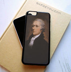Alexander Hamilton - iPhone 6/6S Case, iPhone 6/6S Plus Case, iPhone 5/5S SE Case plus Samsung Galaxy S5 S6 S7 Edge Cases