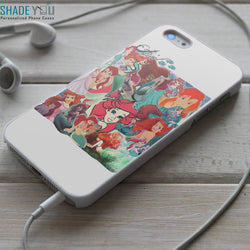 Ariel Collage the Little Mermaid - iPhone 4/4S, iPhone 5/5S/5C, iPhone 6 Case, Samsung Galaxy S4/S5 Cases