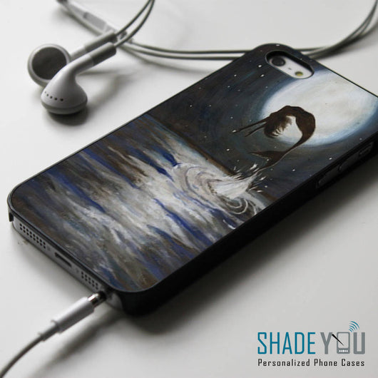 Ariel Silhouette the Little Mermaid - iPhone 4/4S, iPhone 5/5S/5C, iPhone 6 Case, Samsung Galaxy S4/S5 Cases