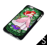 Ariel Stained Glass iphone cases