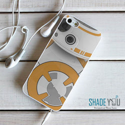 BB-8 Ball Droid - Star Wars iPhone 4/4S, iPhone 5/5S/5C, iPhone 6 Case, plus Samsung Galaxy S4/S5/S6 Edge Cases