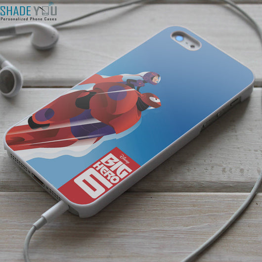 Big Hero 6 Hiro and Baymax - iPhone 4/4S, iPhone 5/5S/5C, iPhone 6 Case, Samsung Galaxy S4/S5 Cases