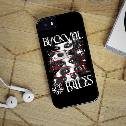 Black Veil Brides - iPhone 4, iPhone 5 5S 5C, iPhone 6 Case, plus Samsung Galaxy S4 S5 S6 Edge Cases