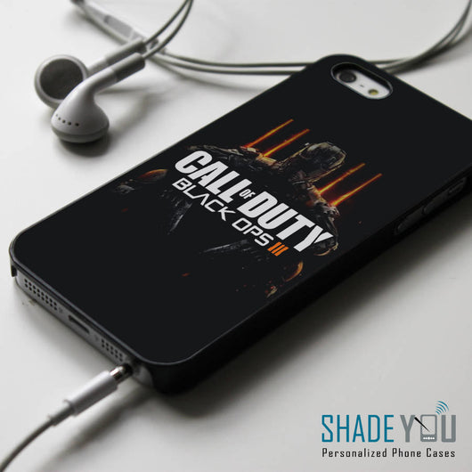 Call of Duty Black Ops 3 - iPhone 4/4S, iPhone 5/5S/5C, iPhone 6 Case, Samsung Galaxy S4/S5/S6 Edge Cases