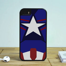 Captain America New Costume - iPhone 6 Case, iPhone 5S Case, iPhone 5C Case plus Samsung Galaxy S4 S5 S6 Edge Cases