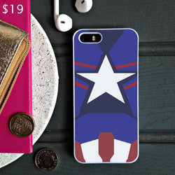 Captain America Age of Ultron New Costume - iPhone 6 Case, iPhone 5S Case, iPhone 5C Case plus Samsung Galaxy S4 S5 S6 Edge Cases