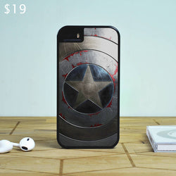 Captain America Shield 2 - The Avengers iPhone 6 Case, iPhone 5S Case, iPhone 5C Case plus Samsung Galaxy S4 S5 S6 Edge Cases