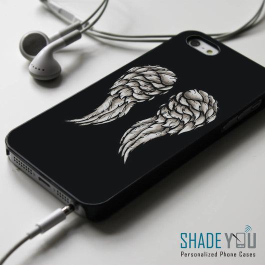 Daryl Dixon Wings - iPhone 4/4S, iPhone 5/5S/5C, iPhone 6 Case, Samsung Galaxy S4/S5 Cases