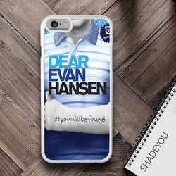 Dear Evan Hansen - Broadway iPhone 7 Case, iPhone 6/6S Plus, 5 5S SE, 7S Plus, Samsung Galaxy S5 S6 S7 Edge Cases