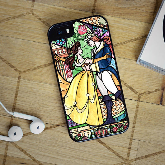 Disney Princess Belle - iPhone 4, iPhone 5 5S 5C, iPhone 6 Case, plus Samsung Galaxy S4 S5 S6 Edge Cases