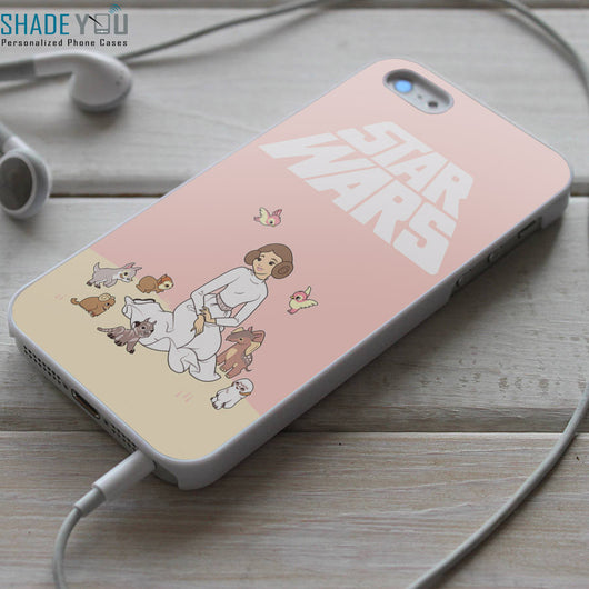 Disney Princess Leia - iPhone 4/4S, iPhone 5/5S/5C, iPhone 6 Case, Samsung Galaxy S4/S5/S6 Edge Cases
