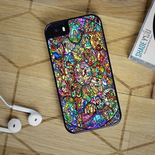 Disney Princess Stained Glass - iPhone 4/4S, iPhone 5/5S/5C, iPhone 6 Case, Samsung Galaxy S4/S5/S6 Edge Cases