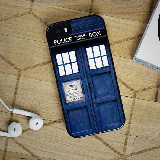 Doctor Who Tardis - iPhone 4, iPhone 5 5S 5C, iPhone 6 Case, plus Samsung Galaxy S4 S5 S6 Edge Cases