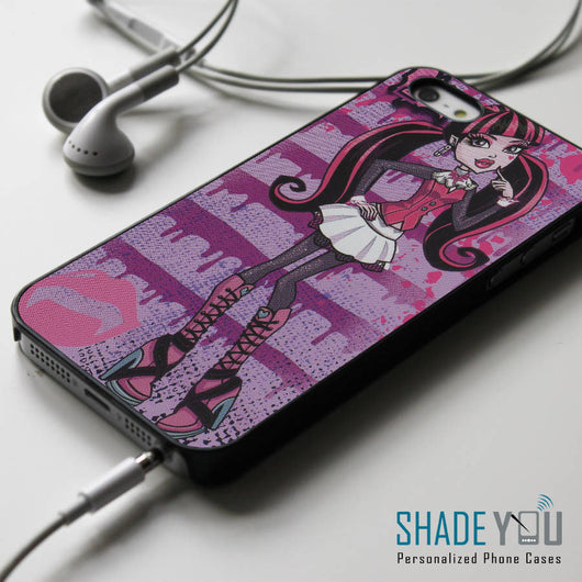 Draculaura Monster High iPhone 4/4S, iPhone 5/5S/5C, iPhone 6 Case, Samsung Galaxy S4/S5 Cases