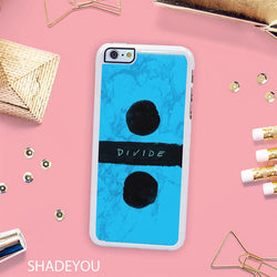 Ed Sheeran Divide - iPhone 7 Case, iPhone 6/6S Plus, iPhone 5 5S SE, Nexus, HTC M9, LG G5, Samsung Galaxy S5 S6 S7 Edge Cases