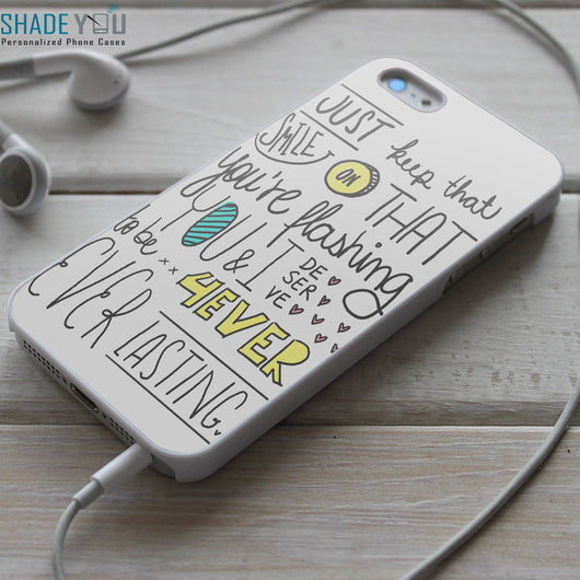Emblem3 Chloe Lyrics - iPhone 4/4S, iPhone 5/5S/5C, iPhone 6 Case, Samsung Galaxy S4/S5 Case