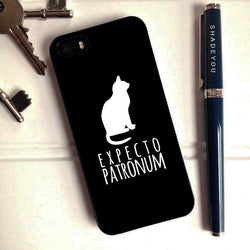 Harry Potter Expecto Patronum Cat - iPhone 6 Case, iPhone 5S Case, iPhone 5C Case plus Samsung Galaxy S4 S5 S6 Edge Cases