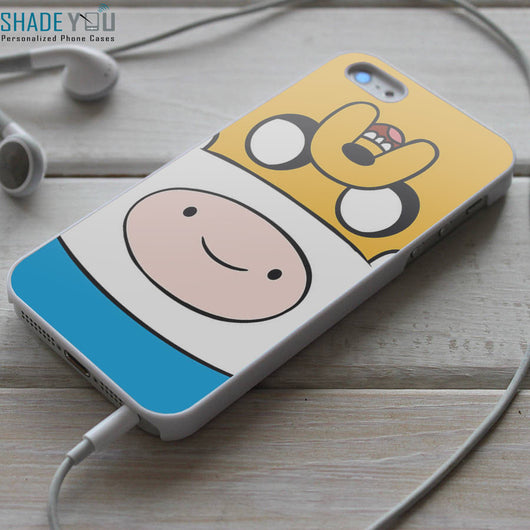 Finn and Jake Adventure Time - iPhone 4/4S, iPhone 5/5S/5C, iPhone 6 Case, Samsung Galaxy S4/S5 Cases