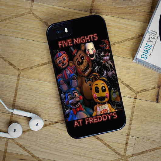 Five Nights at Freddy's - iPhone 4/4S, iPhone 5/5S/5C, iPhone 6 Case, Samsung Galaxy S4/S5/S6 Edge Cases