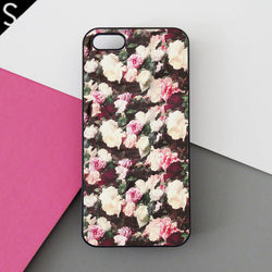 supreme PCL Floral Pattern iphone cases