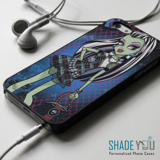 Frankie Stein Monster High iPhone 4/4S, iPhone 5/5S/5C, iPhone 6 Case, Samsung Galaxy S4/S5 Cases