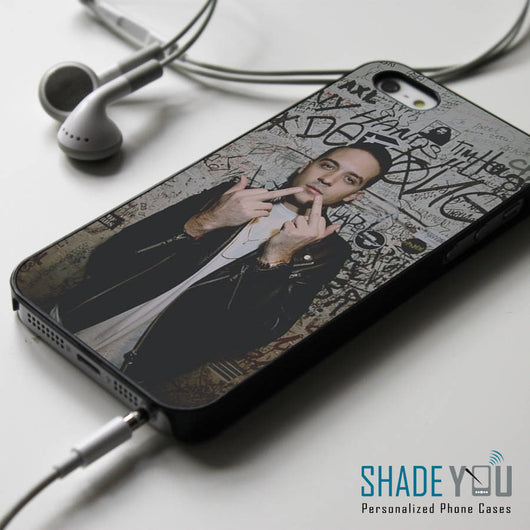 G-Eazy Collage Lyrics - iPhone 4/4S, iPhone 5/5S/5C, iPhone 6 Case, Samsung Galaxy S4/S5 Cases