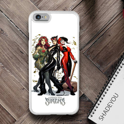 Gotham City Sirens iphone cases