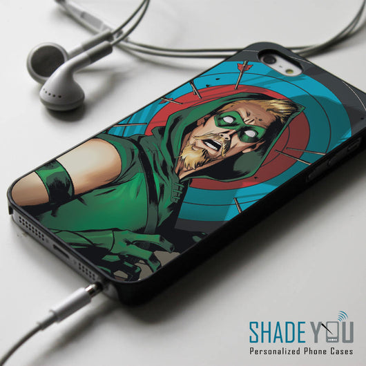 Green Arrow Superhero - iPhone 4/4S, iPhone 5/5S/5C, iPhone 6 Case, Samsung Galaxy S4/S5 Cases